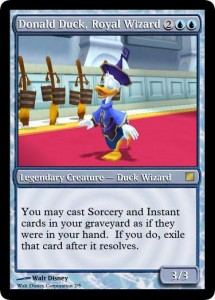 Donald Duck Royal Wizard